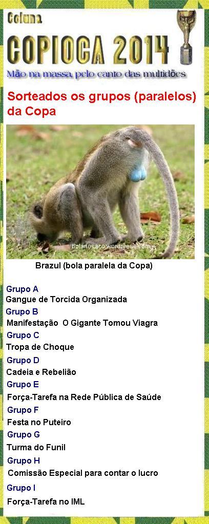 Grupos da Copioca