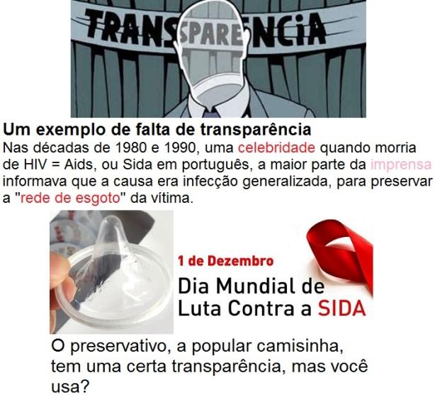 a transpa