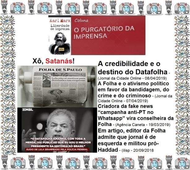 O purgatório da imprensa