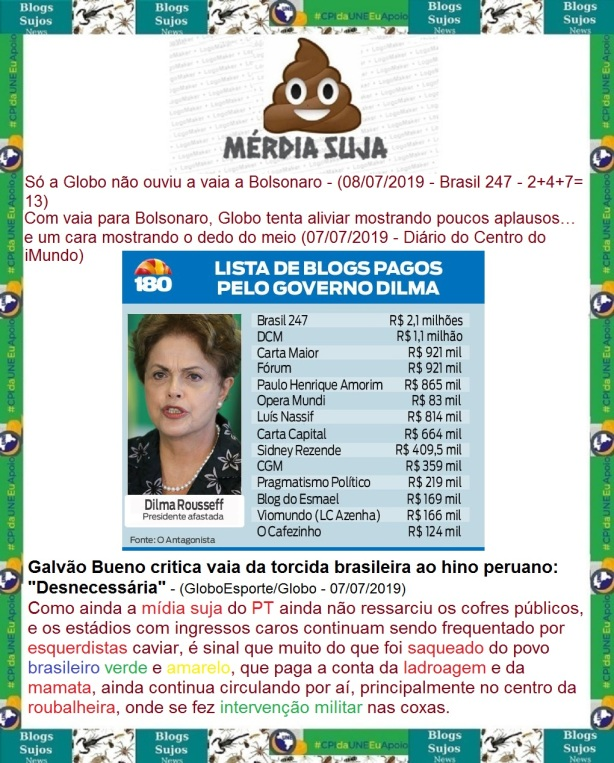 Blogues sujos